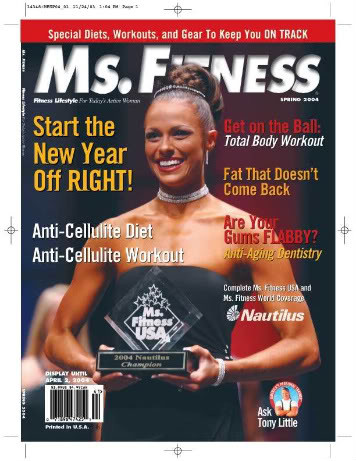 Sarah Harding ms. fitness chiropractic